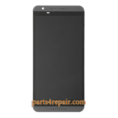 Complete Screen Assembly with Front Housing for HTC Desire 820 -Black