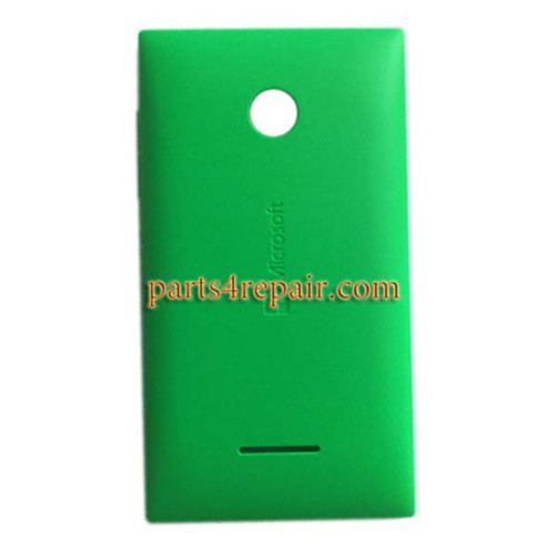 Back Cover with Side Keys for Microsoft Lumia 435 -Green