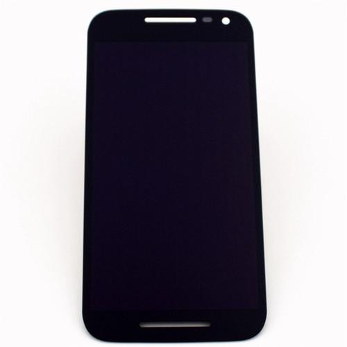 Complete Screen Assembly for Motorola Moto G (3rd Gen) -Black