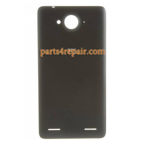 Back Cover for ZTE Redbull V5 V9180 -Black