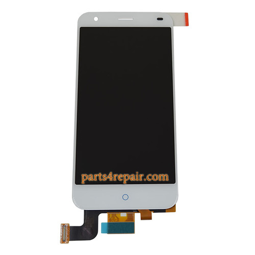 Complete Screen Assembly for ZTE Blade S6 (Q5) from www.parts4repair.com