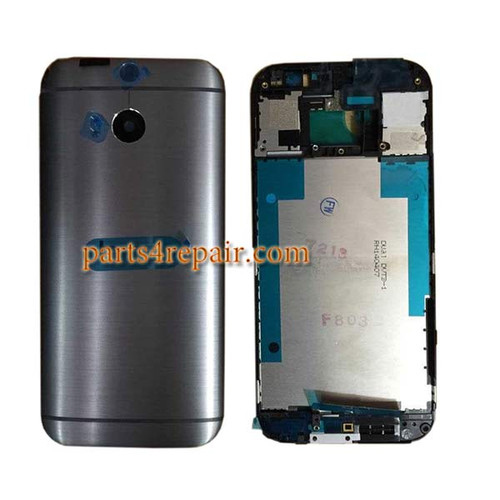HTC One M8 Full Housing Cover from www.parts4repair.com