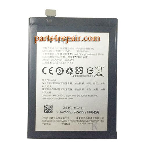 BLP595 Built-in Battery 2320mAh for Oppo R7