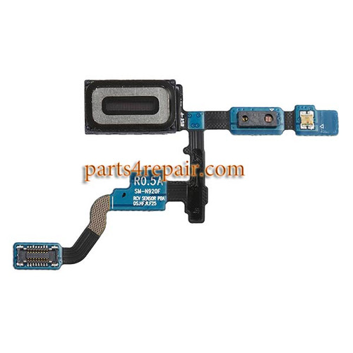 Earpiece Speaker Flex Cable for Samsung Galaxy Note 5 from www.parts4repair.com