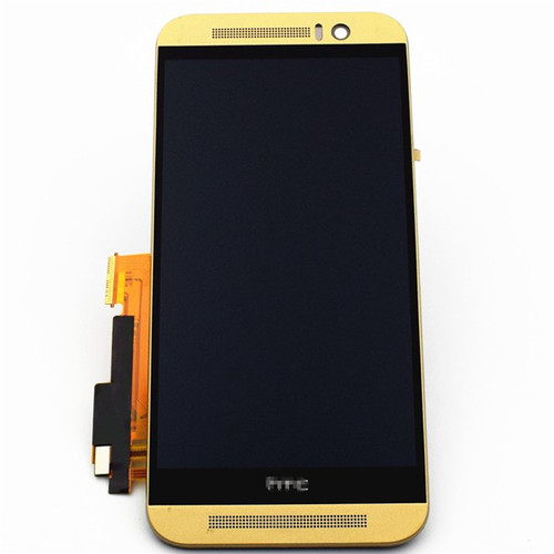 Complete Screen Assembly with Bezel for HTC One M9 -Gold