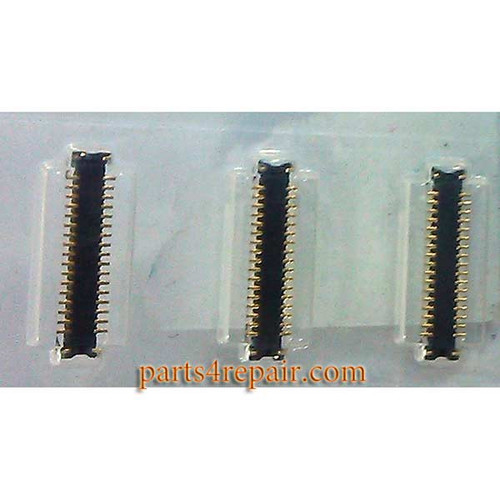 34pin LCD FPC Connector for Samsung Galaxy A3
