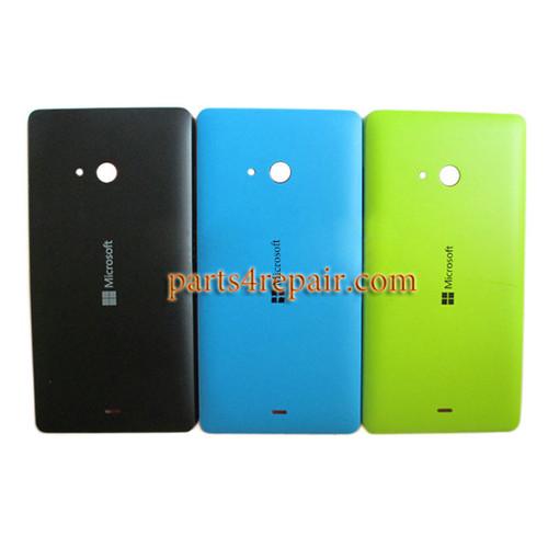 Back Cover with Side Keys for Microsoft Lumia 540 Dual SIM -Blue