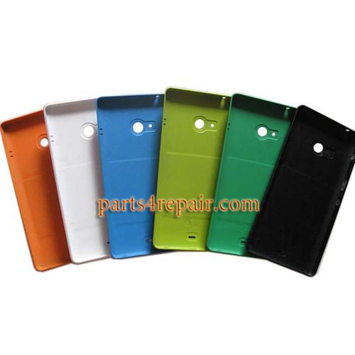 Back Cover with Side Keys for Microsoft Lumia 540 Dual SIM -Orange