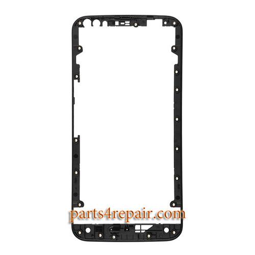 Front Housing for Motorola Moto X Style XT1572 XT1575 -Black