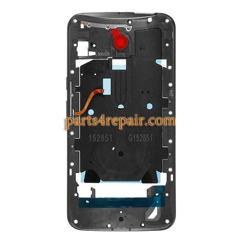 Middle Housing Cover for Motorola Moto X Style XT1572 XT1575 -Grey