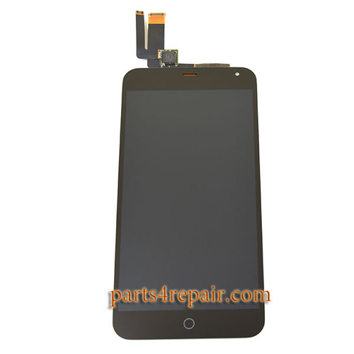 Complete Screen Assembly for Meizu M1 Note -Black