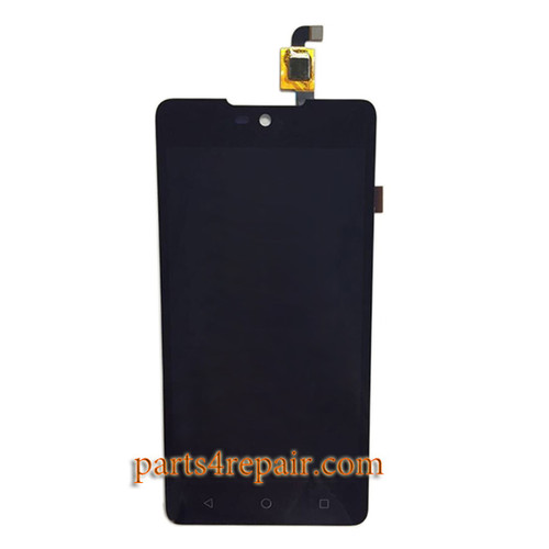 Complete Screen Assembly for Wiko Rainbow Lite 4G from www.parts4repair.com
