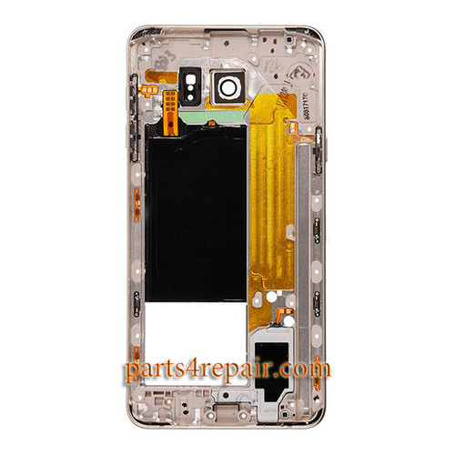 Middle Housing Cover for Samsung Galaxy Note 5 SM-N920F -Gold