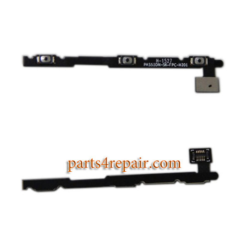 Side Key Flex Cable for Lenovo Vibe P1 from www.parts4repair.com