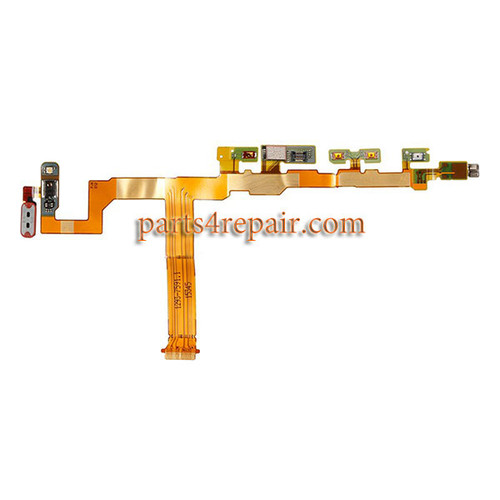 Side Key Flex Cable for Sony Xperia Z5 Compact from www.parts4repair.com