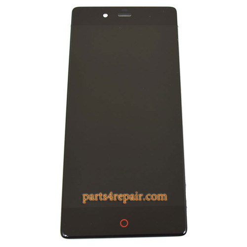 Complete Screen Assembly for ZTE Nubia Z9 NX508J from www.parts4repair.com