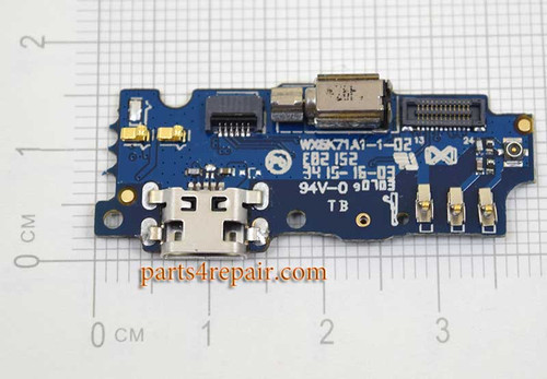 "Dock Charging PCB Board for Meizu M2 5.0"" from www.parts4repair.com"