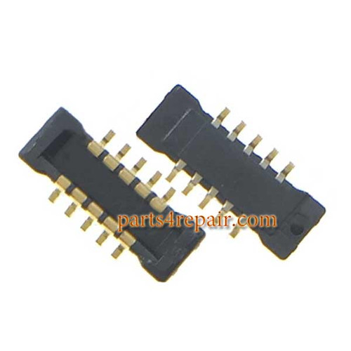 10pin Touch Screen FPC Connector on Flex Cable for Meizu M2 Note -5pcs