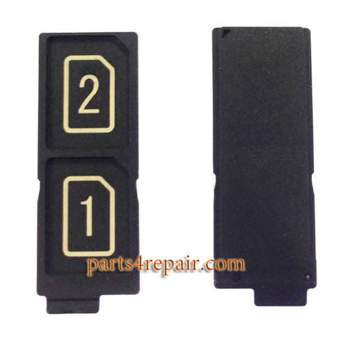 Dual SIM Tray for Sony Xperia Z5 / Sony Xperia Z5 Premium from www.parts4repair.com