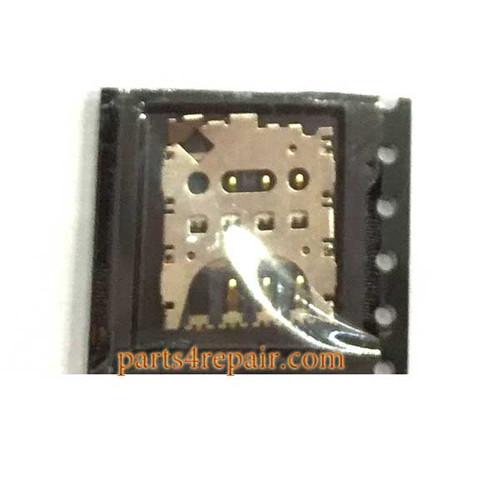 SIM Card Reader for Motorola Moto G (3rd Gen) from www.parts4repair.com