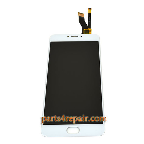 Complete Screen Assembly for Meizu M3 Note M681H (Meizu Blue Charm Note3) -White