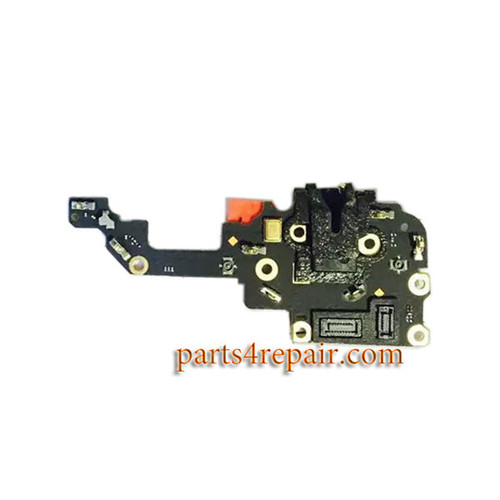 Earphone Jack Board for Oppo R9 Plus from www.parts4repair.com