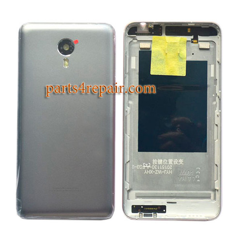 Back Housing Cover with Side Keys for Meizu M1 Metal from www.parts4repair.com