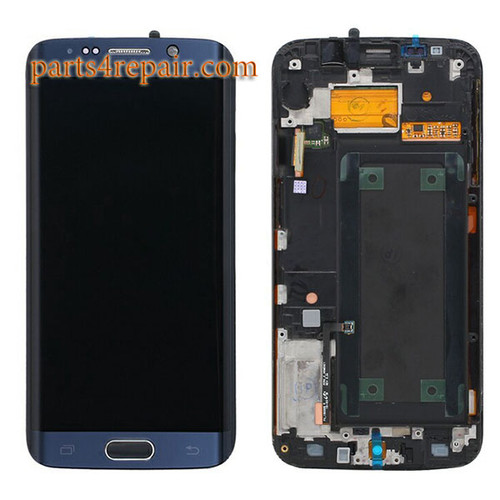 Complete Screen Assembly for Samsung Galaxy S6 Edge from www.parts4repair.com