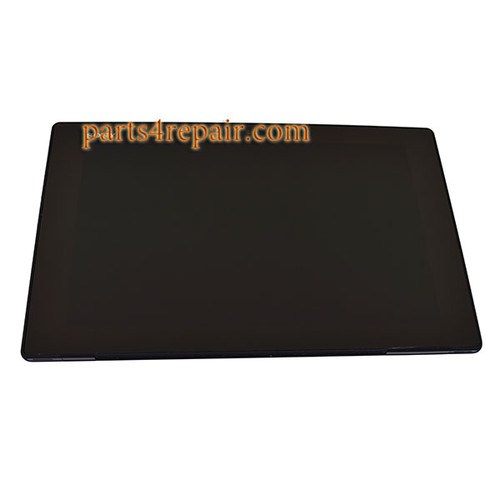 LCD Screen and Touch Screen Assembly for Sony Xperia Tablet Z