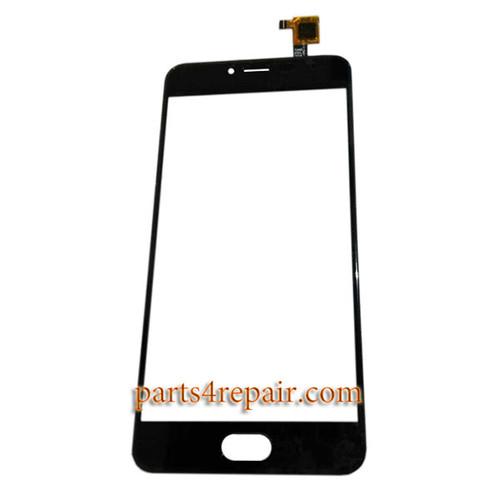 Touch Screen Digitizer for Meizu M3 -Black