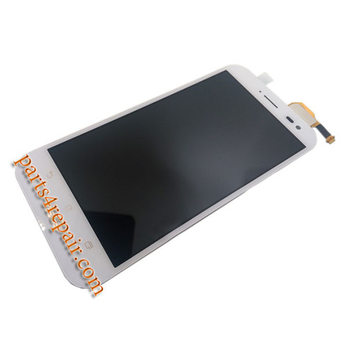 Complete Screen Assembly for Asus Zenfone Zoom ZX551ML -White