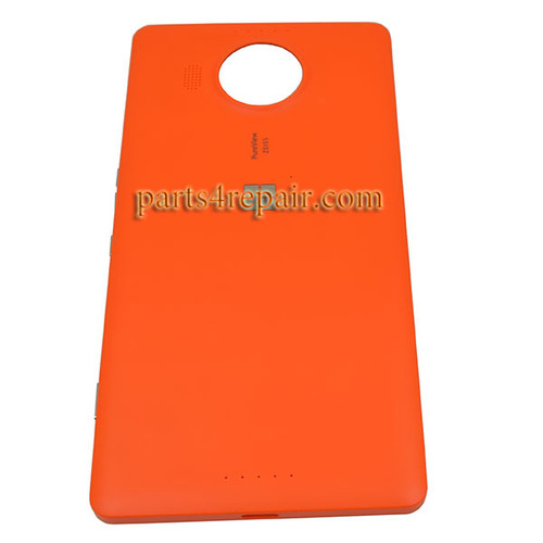 Back Cover OEM with Side Keys for Microsoft Lumia 950 XL -Orange
