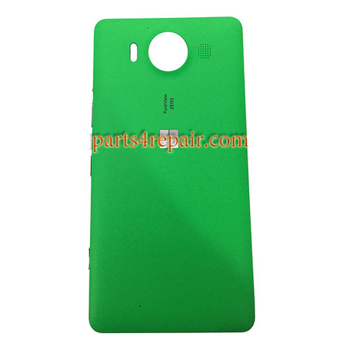 Back Housing Cover with Side Keys OEM for Microsoft Lumia 950 -Green