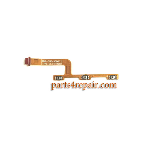 Side Key Flex Cable for Meizu M3 from www.parts4repair.com