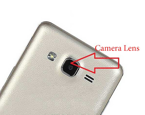 Camera Glass Lens with Adhesive for Samsung Galaxy On5 On7