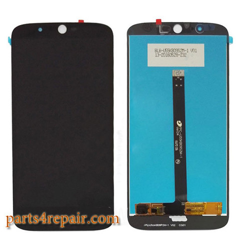 Complete Screen Assembly for Acer Liquid Zest Plus Z628 -Black