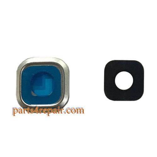 Camera Cover & Lens for Samsung Galaxy A5 (2016) -Silver