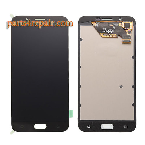 Complete Screen Assembly for Samsung Galaxy A8 -Black
