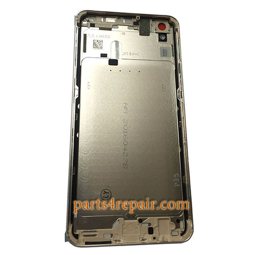 Back Housing without Side Keys for Oppo R9 Plus