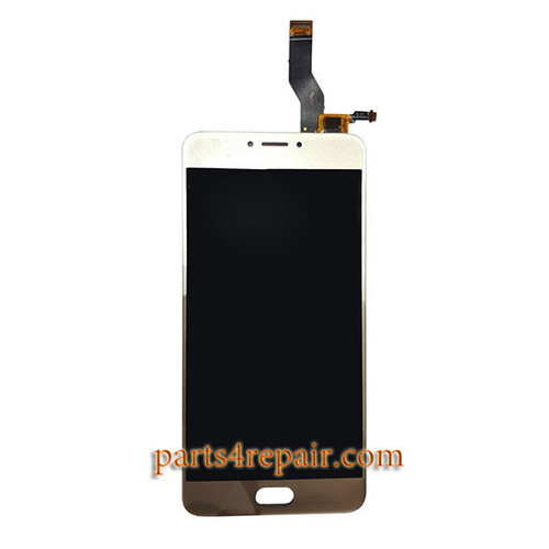 Complete Screen Assembly for Meizu M3 Note L681H (Meizu Blue Charm Note3) -Gold
