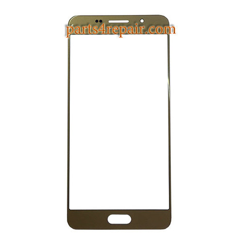 Front Glass OEM for Samsung Galaxy A3 (2016) All Versions -Gold