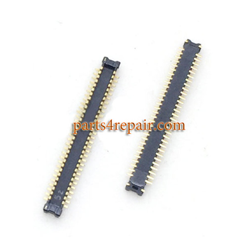 60pin LCD FPC Connector on Flex Cable for Huawei Honor Note 8 -5pcs