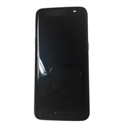 Complete Screen Assembly with Bezel for Samsung Galaxy S7 Edge -Black