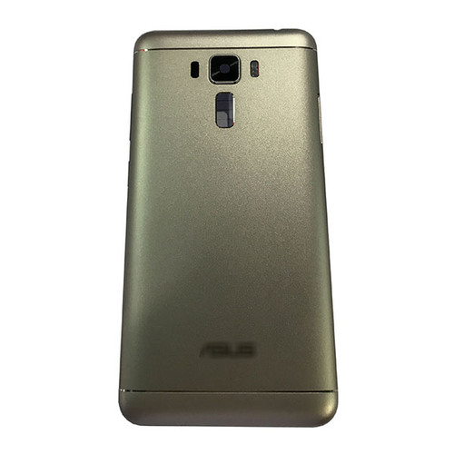Back Housing Cover with Side Keys for Asus Zenfone 3 Laser ZC551KL -Silver