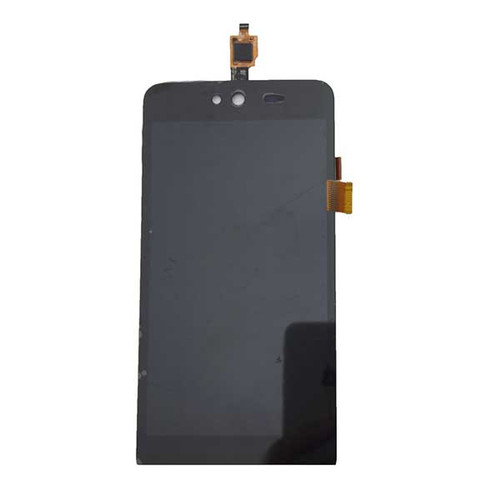Complete Screen Assembly for Wiko Rainbow Jam -Black
