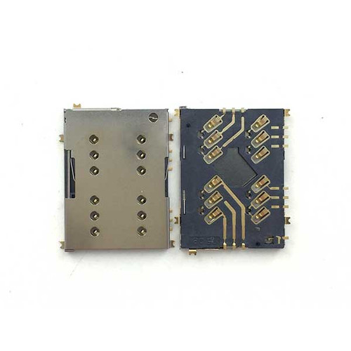 SIM Card Reader Contact for Sony Xperia M5 from www.parts4repair.com
