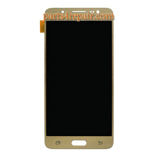 Complete Screen Assembly for Samsung Galaxy J5 (2016) All Versions (Refurbished) -Gold
