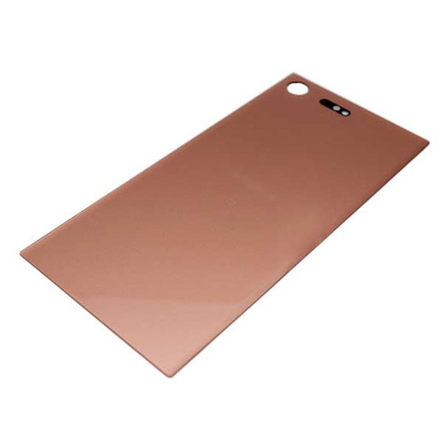 Back Glass Cover with adhesive for Sony Xperia XZ Premium -Bronze Pink