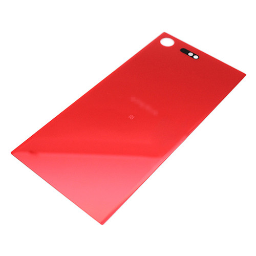 Back Glass Cover with adhesive for Sony Xperia XZ Premium -Red