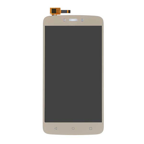 Complete Screen Assembly for Motorola Moto C Plus from www.parts4repair.com